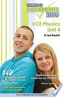 Cambridge Checkpoints Vce Physics Unit 4 2009 book