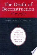 The Death of Reconstruction Book PDF