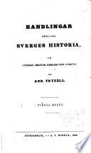 Handlingar rörande Sverges Historia