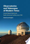Observatories and Telescopes of Modern Times