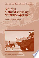 Security A Multidisciplinary Normative Approach
