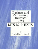 download ebook business and accounting research using lexis-nexis pdf epub