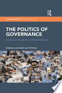 The Politics of Governance