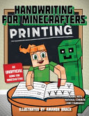 Handwriting For Minecrafters Printing
