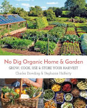 illustration du livre No Dig Organic Home & Garden