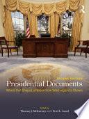 Presidential Documents
