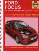 Ford Focus Service And Repair Manual