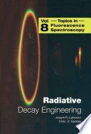 Radiative Decay Engineering : increased. this book presents expert contributions describing...