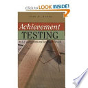 Achievement Testing in U S  Elementary and Secondary Schools