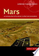 Mars  An Introduction to its Interior  Surface and Atmosphere
