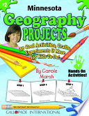 Minnesota Geography Projects   30 Cool Activities  Crafts  Experiments   More for Kids to Do to Learn About Your State
