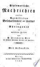 Beitr  ge zur Mainzer Geschichte der mittleren Zeiten