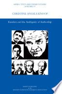 Kundera and the Ambiguity of Authorship