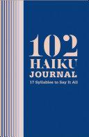 download ebook 102 haiku journal pdf epub