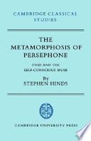 The Metamorphosis of Persephone Book PDF