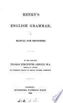 Henry s English grammar
