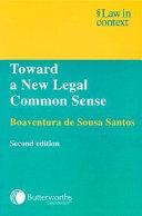 Toward a New Legal Common Sense