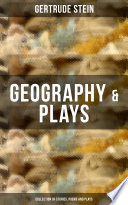Geography Plays Collection Of Stories Poems And Plays