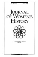 Journal of Women s History