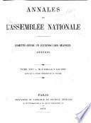 Annales de l Assembl  e nationale