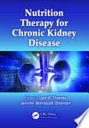 Nutrition Therapy For Chronic Kidney Disease