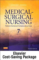 Medical Surgical Nursing    Single Volume Text and Elsevier Adaptive Quizzing Package