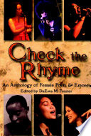 Check the Rhyme  An Anthology of Female Poets   Emcees