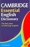 English Vocabulary in Use. Elementary. Without answers.