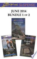 Love Inspired Suspense June 2014   Bundle 1 of 2