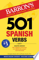 501 Spanish Verbs  8th edition