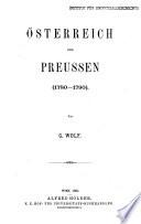 Österreich und Preussen (1780-1790)
