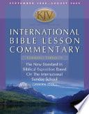 Kjv International Bible Lesson Commentary