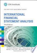 International Financial Statement Analysis  Third Edition  CFA Institute Investment Series