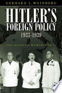 Hitler s Foreign Policy 1933 1939