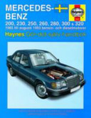 Mercedes Benz 124 Series Service And Repair Manual
