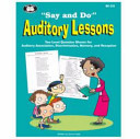 Say and Do  Auditory Lessons