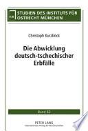 Die Abwicklung deutsch tschechischer Erbf  lle