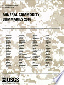 Mineral Commodity Summaries 2016