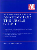 Appleton   Lange s Review of Anatomy for the USMLE Step 1