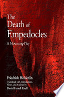 Death of Empedocles, The Three Versions Of Holderlin S Poem The Death Of