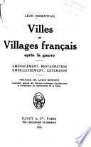 Villes et villages fran  ais apr  s la guerre
