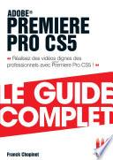 Première Pro Cs5 Guide Complet
