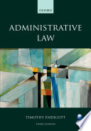 Administrative Law And Brings Clarity To This Complex Field Of