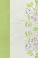 The Study Bible for Women  NKJV Edition  Willow Green Wildflower Leathertouch