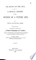 A Critical History of the Doctrine of a Future Life Book PDF