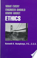 What Every Engineer Should Know about Ethics