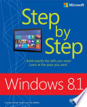 Windows 8 1 Step by Step
