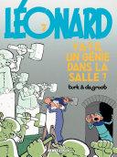illustration Léonard - tome 07 - Y a-t-il un génie dans la salle ?