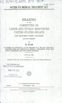 Access to Medical Treatment Act