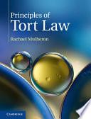 Principles of Tort Law